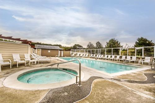 The swimming pool at or near Top Floor - All The Views - 2 Bed 2 Bath Apartment in Westport