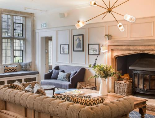 A seating area at The Painswick