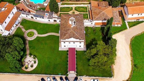 A bird's-eye view of Villa Tolomei Hotel & Resort