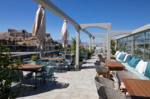 מסעדה או מקום אחר לאכול בו ב-Coco-mat Athens BC
