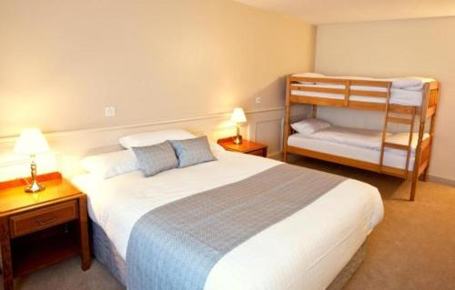 A bunk bed or bunk beds in a room at The Lough and Quay