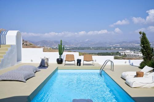The swimming pool at or near Naxian Utopia   Luxury Villas & Suites