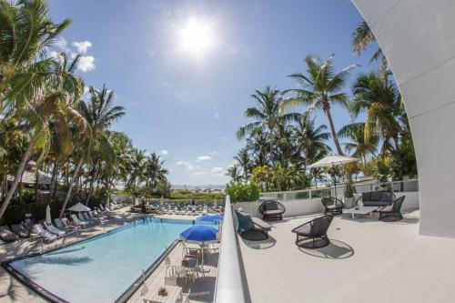 The swimming pool at or near The Sagamore Hotel South Beach