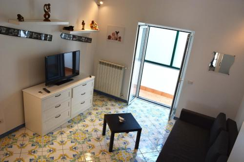 A television and/or entertainment centre at La Bomboniera