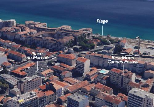 A bird's-eye view of Residhotel Cannes Festival