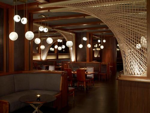 A restaurant or other place to eat at Royalton New York