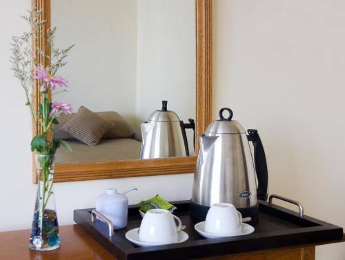 Tetera y cafetera en Grand Hotel Bariloche