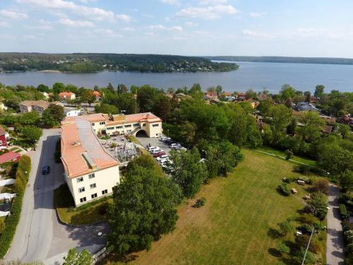 A bird's-eye view of Hotell Kristina