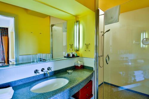 A bathroom at Aria Hotel Prague