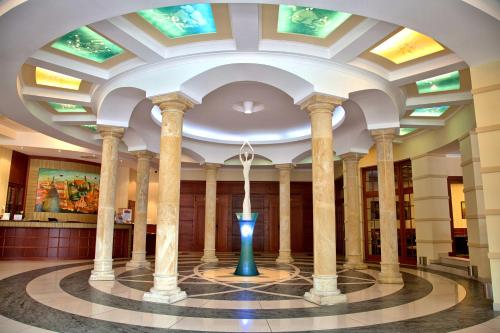 Лобби или стойка регистрации в Hotel sv. Ludmila