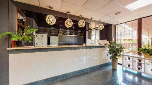 Лобби или стойка регистрации в Отель Резиденция Утриш