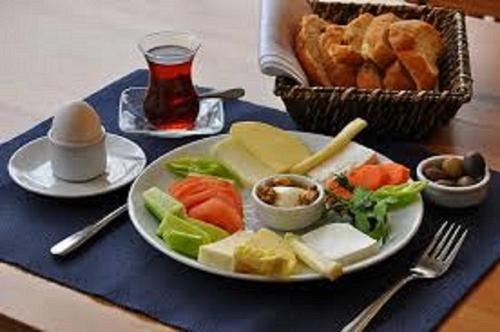 Opções de café da manhã disponíveis para hóspedes em BAKU-WHITE CITY