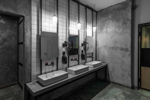 Ванная комната в Roof capsules