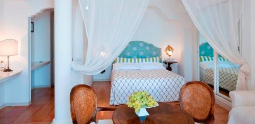 Letto o letti in una camera di Hotel Marincanto