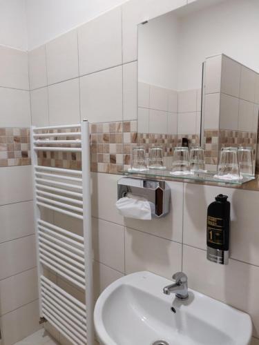 Kúpeľňa v ubytovaní Penzión SESSLER ***