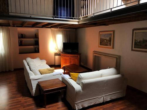 A seating area at Residence Cà Beregana