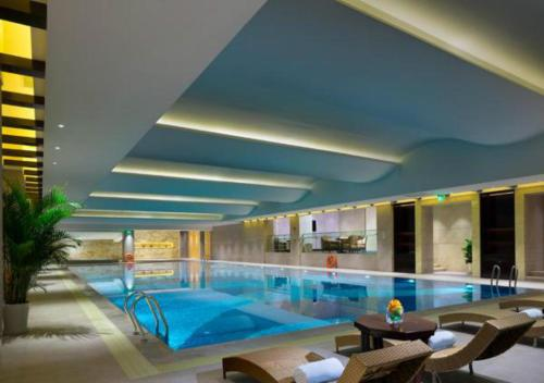 The swimming pool at or near Wyndham Grand Xi'an South