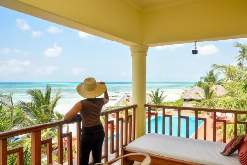 A balcony or terrace at Ifa Beach Resort