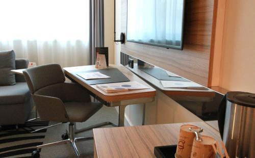 אזור העסקים ו/או חדר הישיבות ב-Novotel Wien City