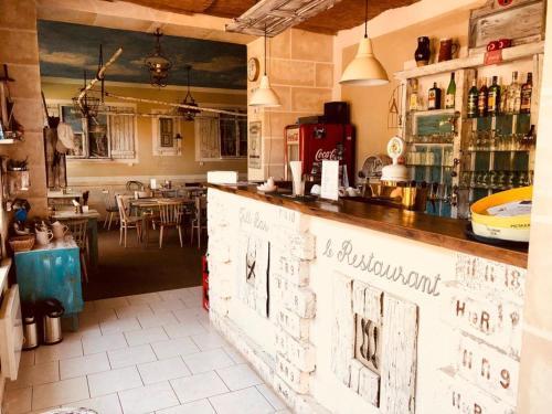 Lounge nebo bar v ubytování Penzion Severka