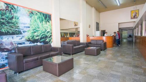 The lobby or reception area at Nordeste Palace Hotel