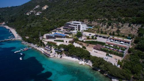 A bird's-eye view of San Nicolas Resort Hotel