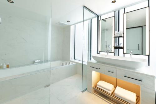 A bathroom at Hamacho Hotel Tokyo