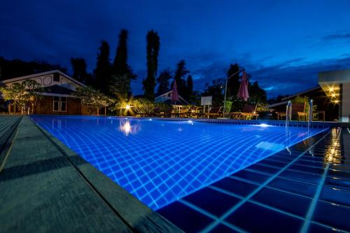 The swimming pool at or near Ruby True Hotel