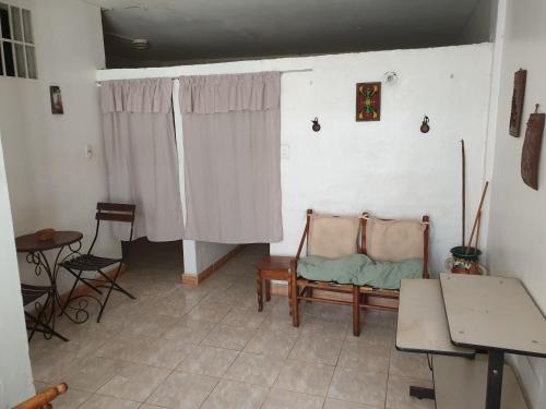 A seating area at Casa machila