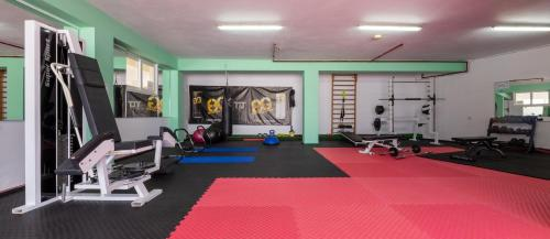The fitness center and/or fitness facilities at Corali Hotel