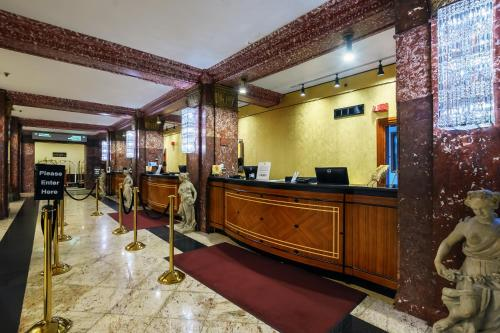 The lobby or reception area at Congress Plaza Hotel Chicago