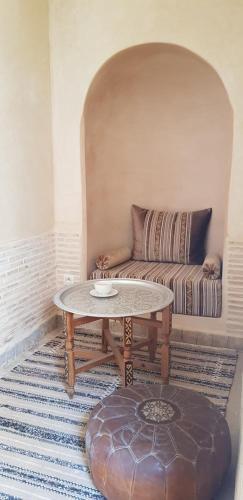 Гостиная зона в Riad Dar Haven