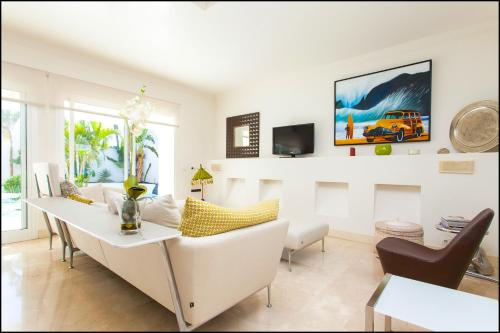 Część wypoczynkowa w obiekcie KATIS Villas Boutique Fuerteventura