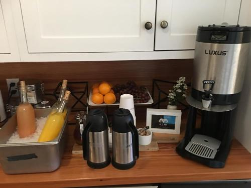 Coffee and tea-making facilities at The Waterford Inn