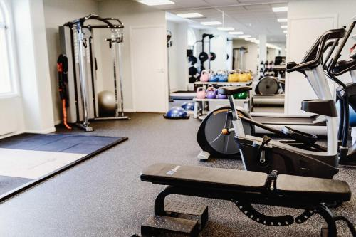 Fitnesscenter och/eller fitnessfaciliteter på Piteå Stadshotell