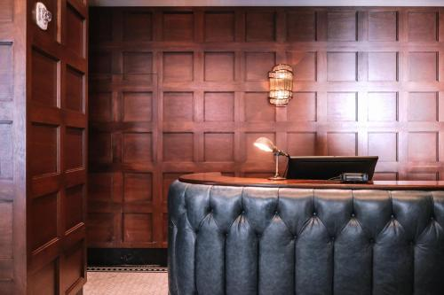 The lobby or reception area at Dossier