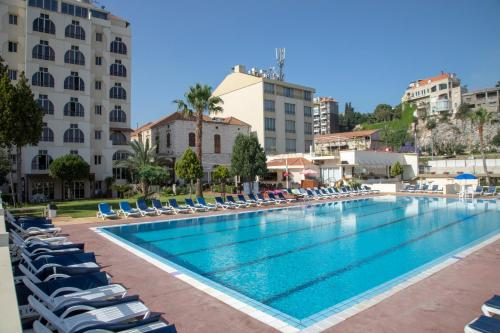 The swimming pool at or near Bel Azur Hotel - Resort