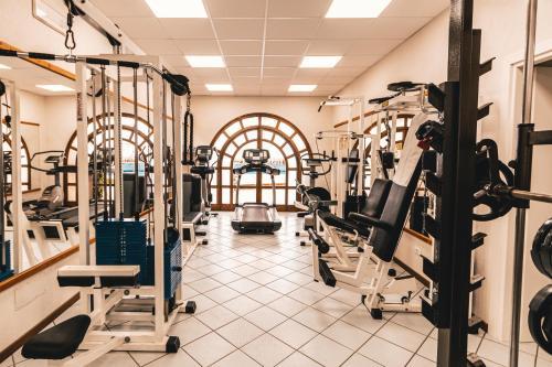 Palestra o centro fitness di Hotel Carasco