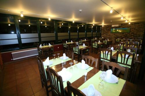 A restaurant or other place to eat at Hotel Amenal