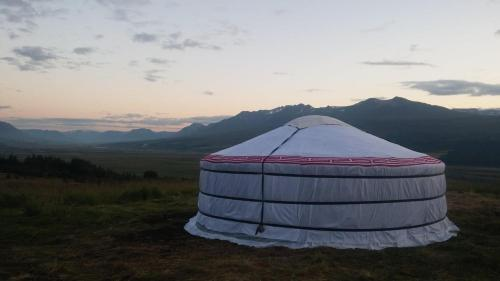 Iceland yurt