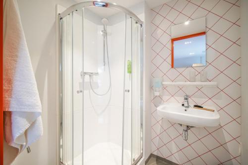 A bathroom at Via Amsterdam