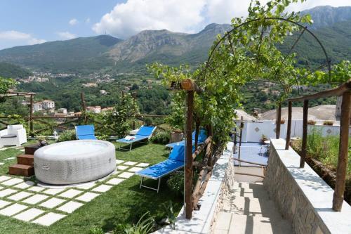 The swimming pool at or close to TRA... INCANTO E NATURA