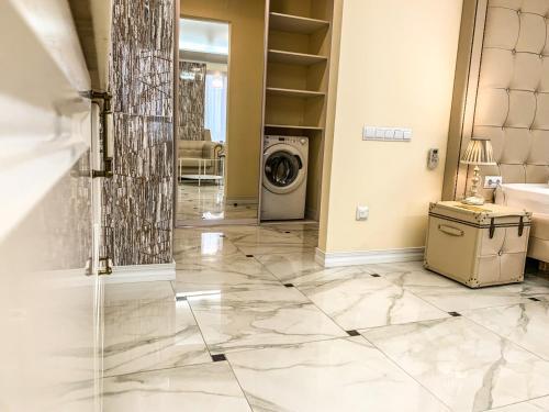 Ванная комната в Апарт-отель Кутузов