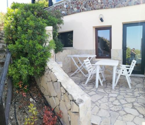 A porch or other outdoor area at Il Moro