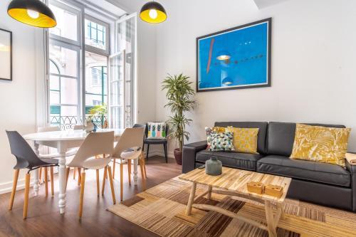 A seating area at LV Premier Apartments Chiado- CH