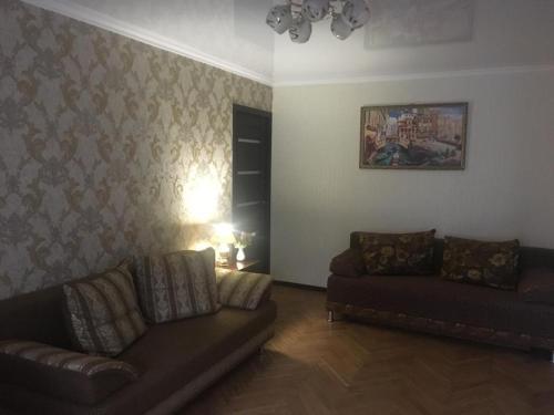 Гостиная зона в 3-ком. квартира в курортной зоне