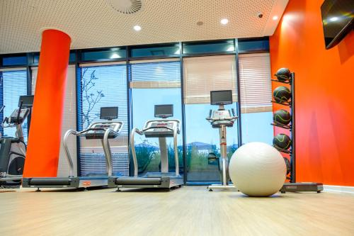 The fitness center and/or fitness facilities at Hilton Garden Inn Mbabane