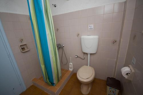 A bathroom at Gialos Studios & Apartments
