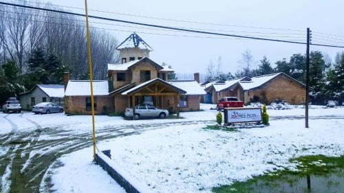 Hosteria Tres Picos during the winter