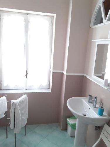 A bathroom at Villa Nina